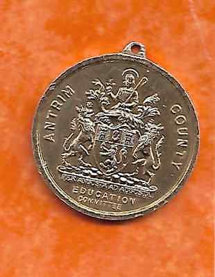 Great Britain, Antrim County Education Committee medal, 1953