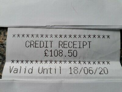 Marks and Spencer Credit Voucher £108