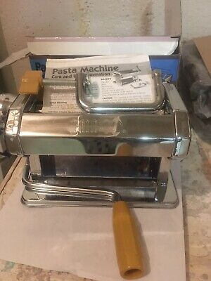 AMACO Craft Pasta Machine Polymer Clay 12381S 9 Settings w/BOX NICE WORKING