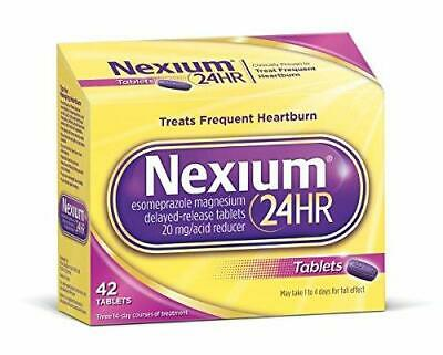 Nexium 24HR Delayed Release Heartburn Relief Tablets  20MG 42 CT