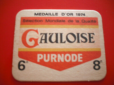 SOUS - BOCK  * GAULOISE * MEDAILLE D'OR * 1974 ( Purnode )