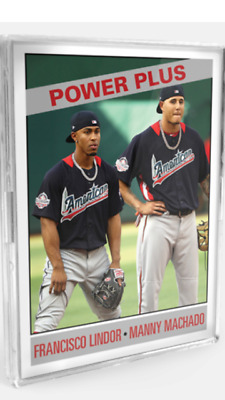 2019 Topps Tbt '66 Power Plus Design Complete Set #28 Trout Griffey Bo & More