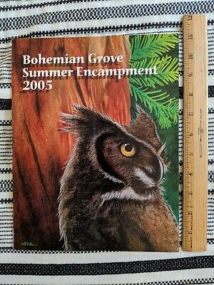 2005 BOHEMIAN GROVE SUMMER ENCAMPMENT - Prgm of Special Events – Walter Cronkite