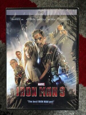 Iron Man 3 (DVD) Free Shipping! New and Unopened! Marvel Avengers