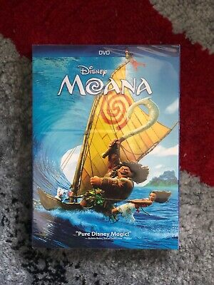 Moana (DVD, 2017) Disney Dwayne Johnson Brand New Fast Shipping
