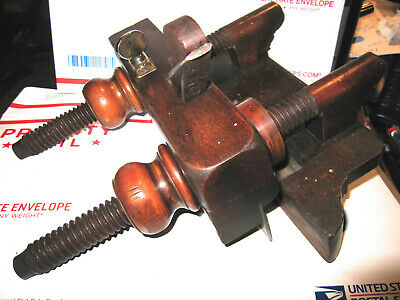 Antique J. Kellogg Plow Plane Wood Plane In Good Antique Cond Amherst, Ms.
