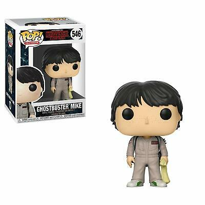 Funko Pop! Television: Stranger Things- Mike Ghostbusters 546 21486 Vinyl Figure