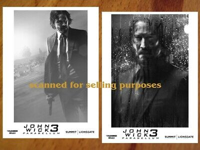 JOHN WICK Chapter 3 Parabellum rare PRESS PHOTO SET 40 B&W Stills KEANU REEVES