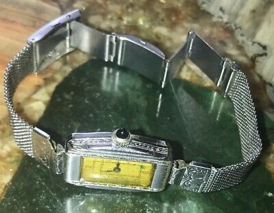 1930's Westfield (by Bulova) 7j. Vintage Art Deco Women's Wrist Watch -- Runs
