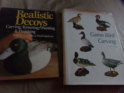 duck carving books. Realistic duck carving and Game Bird carving