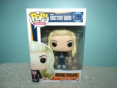 FUNKO POP! ROSE TYLER (BAD WOLF) #295 DOCTOR WHO VINYL FIGURE VAULTED Bent Box