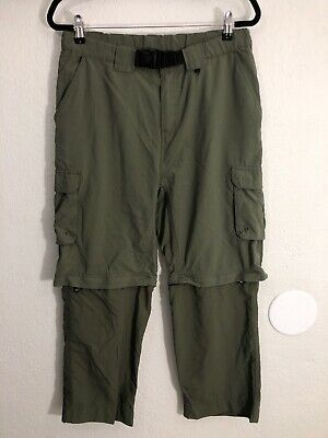 Boy Scouts of America BSA Convertible Switchback Uniform Pants Youth Size Large