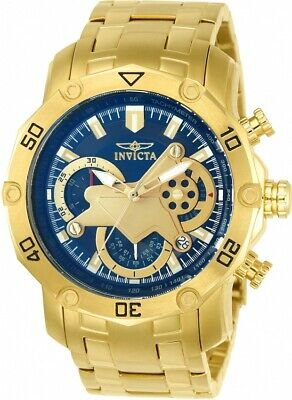 Invicta Men's 22765 'Pro Diver' Scuba Gold-Tone Stainless Steel Watch