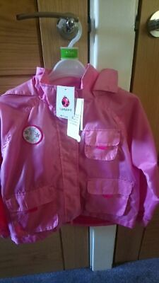 Girls Ladybird Lightweight Coat  Age 6-7  Bnwt Only £4.99  Back To School