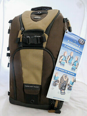 NWT TAMRAC Evolution 6 Sling Pack #5786 Camera Backpack New Khaki Green