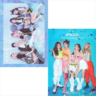 ITZY-[It'z Icy] Random Ver CD+PhotoBook+Card+Pre-Order+Tracking Num