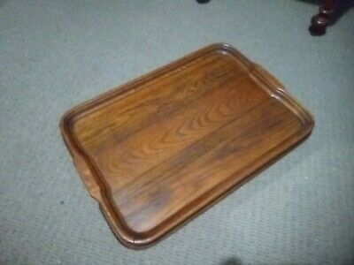 Serving tray, English oak, antique