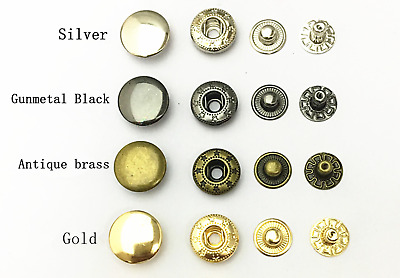 HEAVY DUTY RIVET Poppers Snap Fasteners Press Sewing Leather