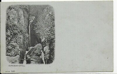 Early Rare Vintage Postcard,Dungeon Chyll,Langdale,Lake District,Cumbria