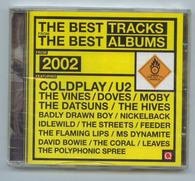 Q Magazine CD – Best of 2002 : Coldplay, David Bowie, Moby, U2, Hives, Streets,