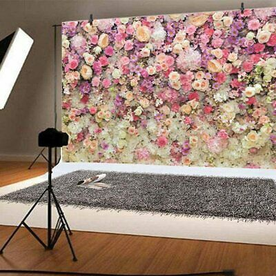 3D Romantic Flower Wall Photography Backdrop Family Photo Props Background #root