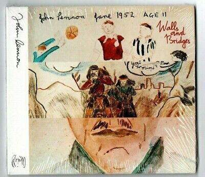 JOHN LENNON - WALLS & BRIDGES DIGIPAK CD, New, FREE post - factory sealed