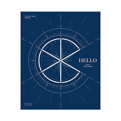 CIX HELLO CHAPTER 1. HELLO, STRANGER 1st EP Album STRANGER CD+POSTER+2Book+4Card