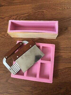SOAP MAKING KIT MOULDS Cutting Tools + Soap Cutter
