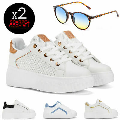 2b9699bba9 SNEAKERS DONNA SPRING Collection + occhiali TWIG scarpe ginnastica casual