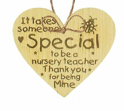 Teacher Gifts Oak Heart School Nursery Pre School Leaving Thank You Present Gift