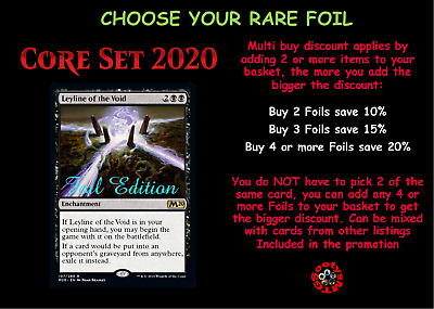 MTG Core Set 2020 M20 Choose your Rare Foil - Buy any 2 save 10% - In Stock