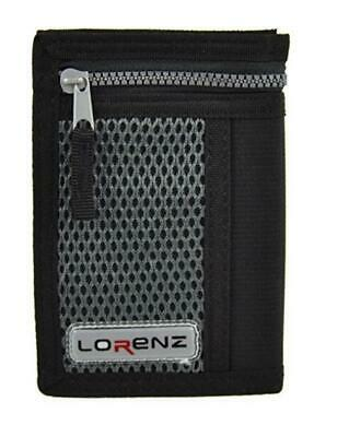 Mens Man Boys Lorenz Trifold Notes Coins Credit Cards Wallet Purse New