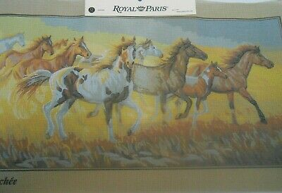 """Royal Paris """"Chevauchee"""" Printed Tapestry Canvas only"""