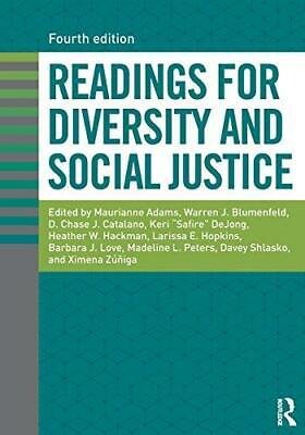 Readings for Diversity and Social Justice 4th Edition