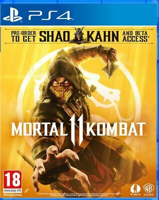 Mortal Kombat 11 (PS4)  BRAND NEW AND SEALED - IN STOCK - QUICK DISPATCH