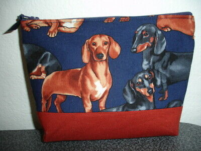 Sleepyville Critters Brown Dachshund Puppy Wiener Dog Shoulder Bag Purse Handbag