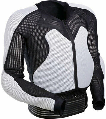 Moose Racing Expedition Body Armor Black/White, Youth Large, 2701-0638