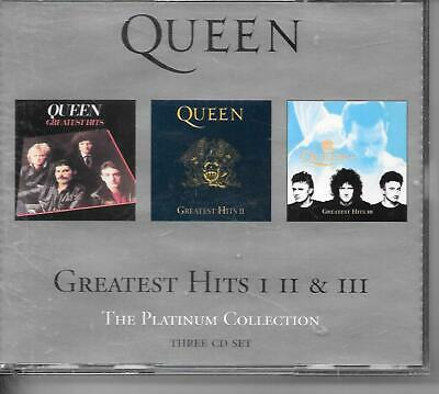Queen, Greatest Hits 1, 2 & 3, The Platinum Collection,