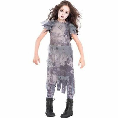Ghostly Zombie Dress Girls Small 4-6 Costume by Suit Yourself- NWT
