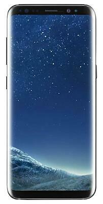"Samsung Galaxy S8+ Sprint 64GB Black 6.2"" SM-G955U GREAT Clean ESN Screen Shadow"