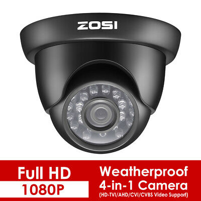 ZOSI HD 1080P TVI Security Camera CCTV Video Home 2.0MP Outdoor IR Night Vision