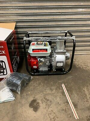 "New Powerful 4 Stroke Petrol Engine 3/"" Water Pump 6.5 HP Pools Floods Ponds etc"