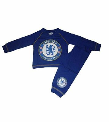 Chelsea Boys Kids Children Child Teenage Football Pyjamas Pjs Set Age 1-4 Years