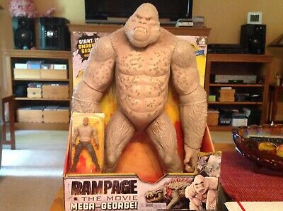 New Rampage The Movie 16 Mega George The Rock Actions Figure