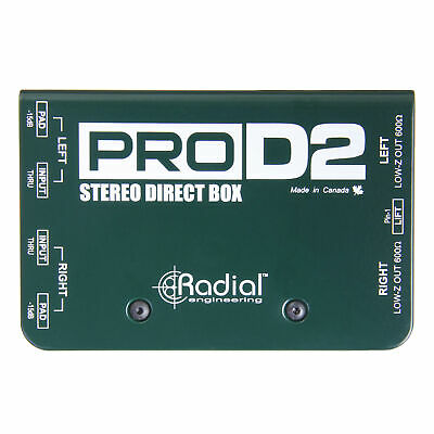 Radial ProD2 Passive Direct Box DI