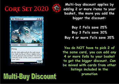 MTG Core Set 2020 M20 Choose your Uncommon Foil - Buy any 2 or more & save 25%