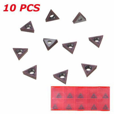 10* TCMT 731 Carbide Insert C6 Grade Fit For 1/4 & 5/16 Turning Tools 2mm 10mm