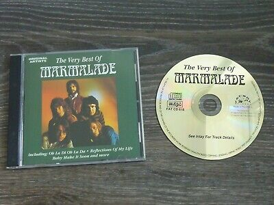 The Very Best of Marmalade - Original Artists - 1994. Fat Boy Records.