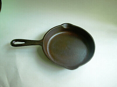 Vintage Birmingham Stove and Range (BSR)  #3 S Red Mountain Cast Iron Skillet