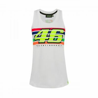 Valentino Rossi VR46 Moto GP The Doctor Stripes Women's Tank Top Official 2019
